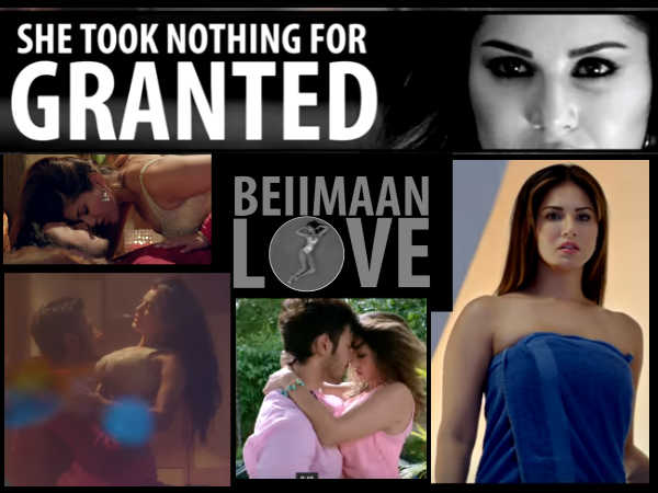 Beimaan Love Film Review Sunny Leone Is Back With Love Sex Dhokha