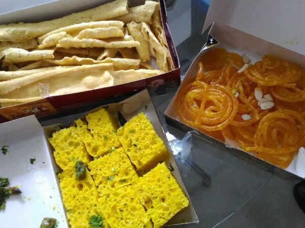 Gujarati Special Dussehra Means Fafda Jalebi