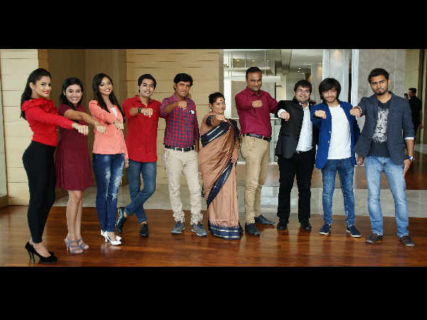 Gujarati Film Fodi laishu Yaar Music and trailer launch