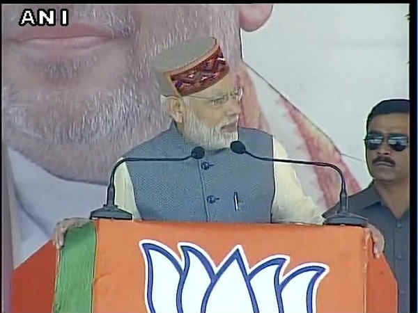 Modi Dedicates 3 Hydroprojects Nation Himachal