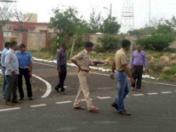 Explosion At Probandar Navel Base Gujarat