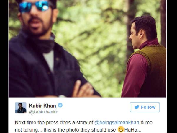 Salman Khan Kabir Khan War Intensifies Leaves Shoot Midway