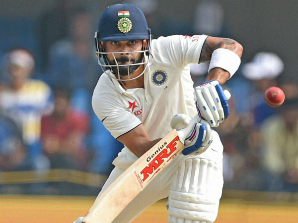 Virat Kohli Completes Double Century Indore Test Against New