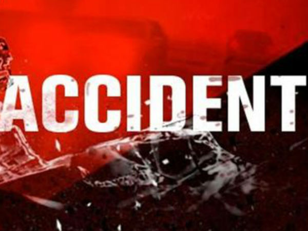 Accident Occured Ahmedabad Wife Dead Husband Injured