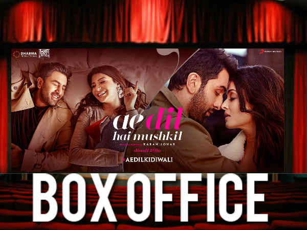 Ae Dil Hai Mushkil Worldwide Box Office Collection Inches To