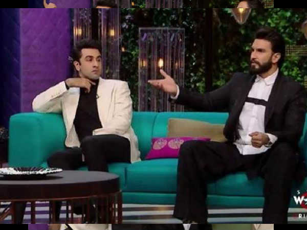 Interesting Comments Made Ranveer Singh Ranbir Kapoor Kof