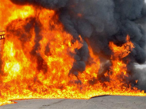 Fire Breaks In Vadodara Tulsivad