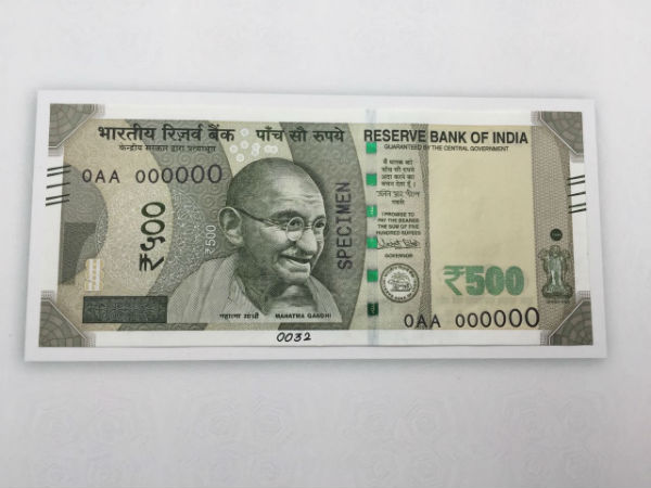 500 new note