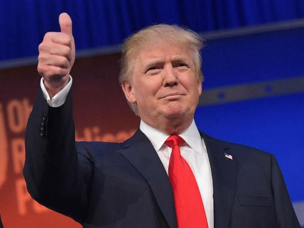 United States New President Donald Trump Address The Nation