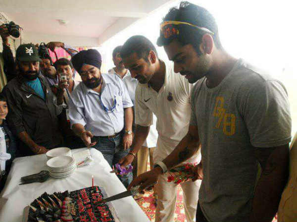 Virat Kohli Birthday Photos Rajkot