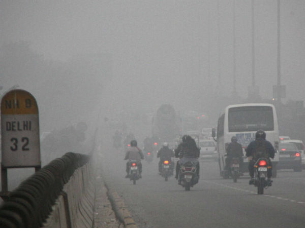 Foggy Weather Condition Persisted Delhi Ncr On Friday Mornin