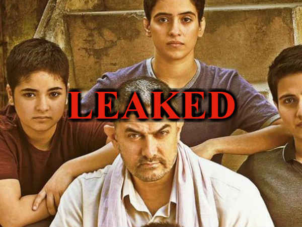 Aamir Khan Movie Dangal Leak On Facebook