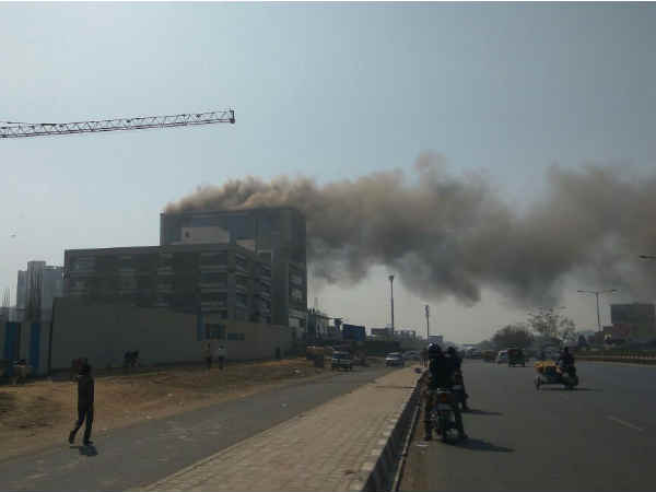 Fire Building S G Highway Ahmedabad