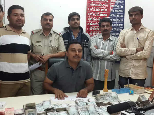 Porbandar Police Arrested 2 People With 25 Lakhs Cash