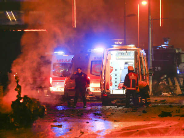At Least 13 People Have Been Killed Explosions Near Football