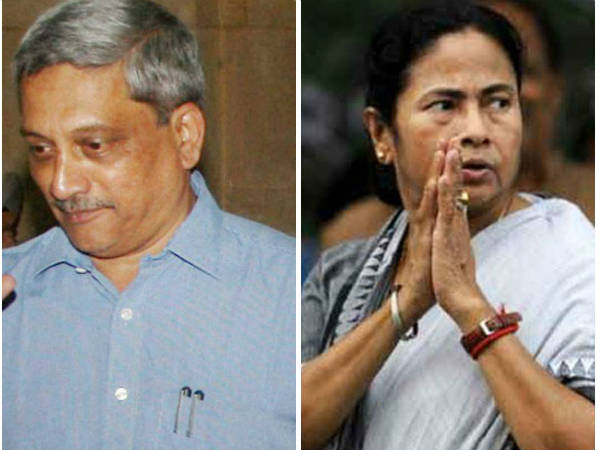 Defence Minister Manohar Parrikar Writes West Bengal Chief M