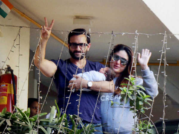 First Offical Pic Taimur Saif Ali Khan Kareena Kapoor