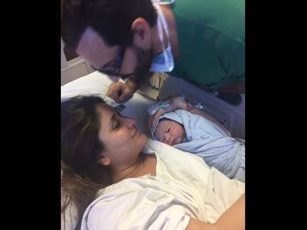 Kareena Saif Ali Khan S Candid Picture With Taimur