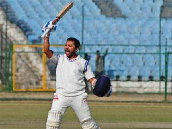 Samit Gohel Double Ton Helps Gujrat Enter Semifinal Ranji H