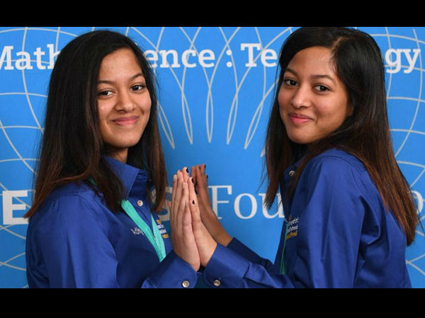 Indian Origin Identical Twin Sisters Another Teen Got 100