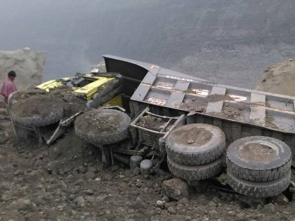 Mine Collapse Lalmatia Jharkhand 40 50 Workers Feared Trapp