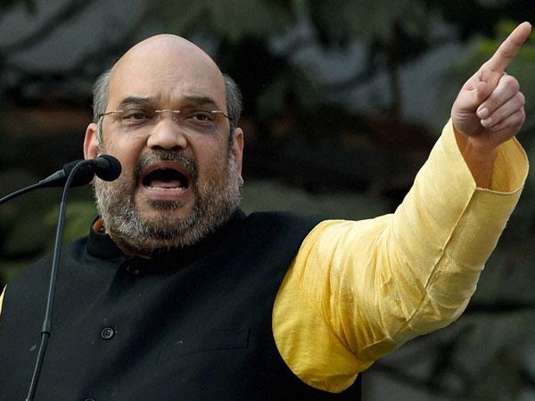 Amit Shah Address Parivartan Rally Lucknow