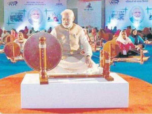 Nobody Can Replace Mahatma Gandhi Says Union Minister Kalraj Mishra On Kvic Calendar