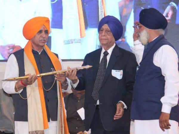 Vijay Rupani Attended Sikh Community Function At Jamnagar