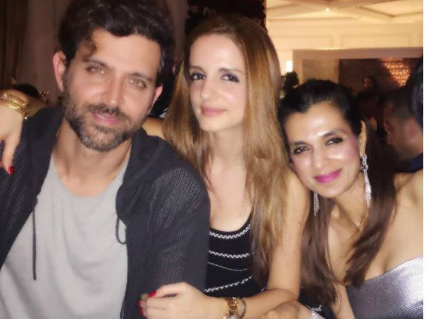 Hrithik Roshan Susanne Khan Celebrates New Year Dubai