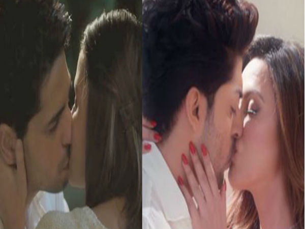 Bollywood Hottest Kissing Scenes From