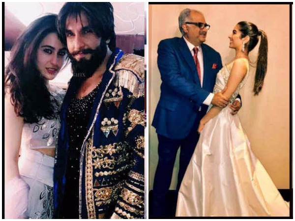 Sara Ali Khan Jhanvi Kapoor Khushi Kapoor Spotted At A Wedding In Traditional Avatar