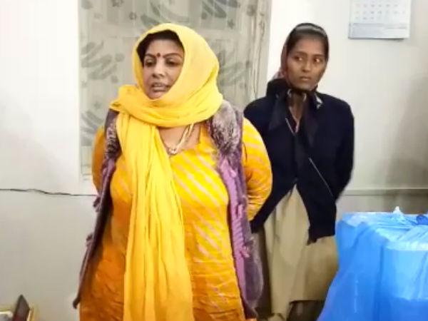 Sadhvi Jayshree Giri Was Arrested The Fraud 5 Cr Gold Case