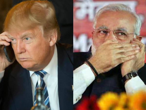 Pm Narendra Modi Is The Fifth World Leader Who Received Call From Trump