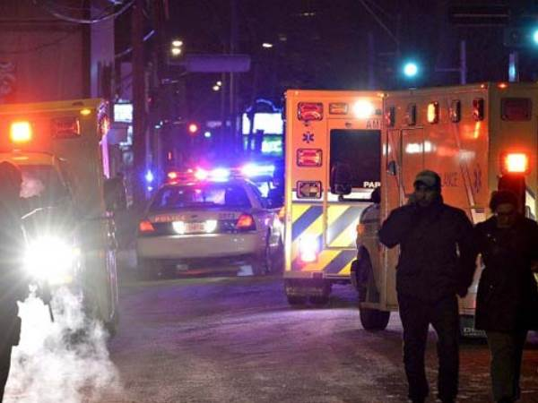Gunmen Opened Fire In A Quebec City Of Canada Mosque During Evening Prayers