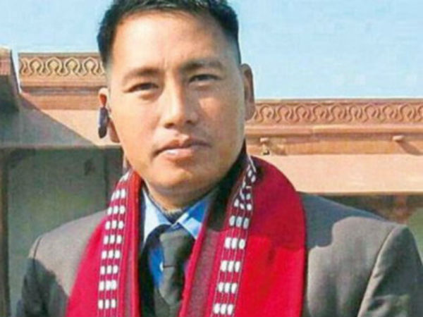 Republic Day 2017 Wife Army Hero Hangpan Dada Receives His Ashoka Chakra