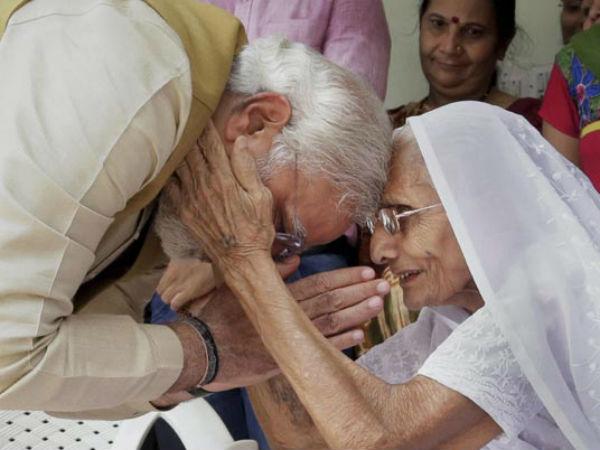 Pm Narendra Modi Skips Yoga Meet Mother Had Breakfast With Heeraban