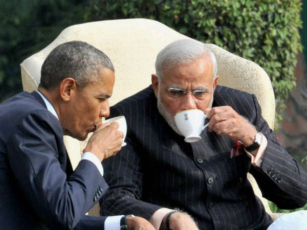 Outgoing Us President Obama Telephoned Pm Modi And Says Thank You