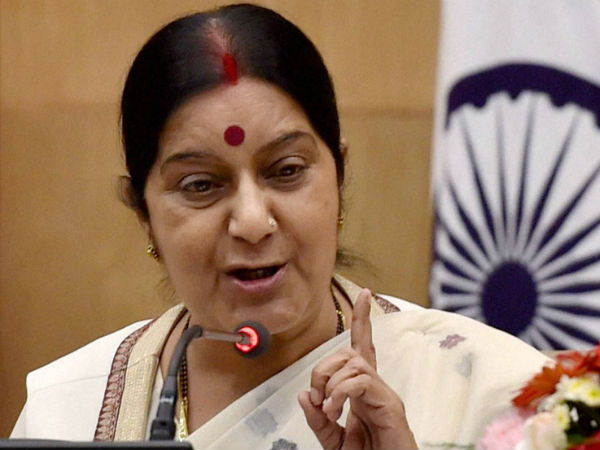 Sushma Swaraj Amazon Must Tender Unconditional Apology On National Flag