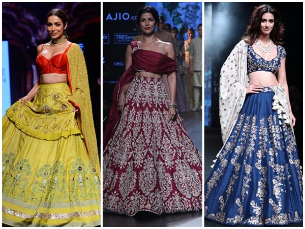 Lakme Fashion Week Bollywood Actresses Rocked The Ramp