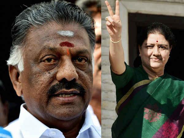 O Pannerselvam And Sasikala Met Tamilnadu Governor Vidyasagar Rao