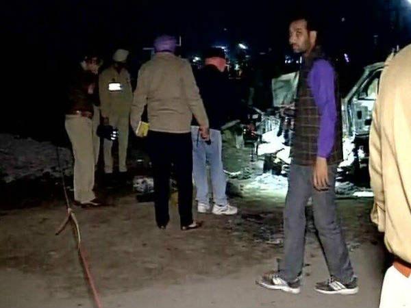 Explosion In A Car In Bathinda Punjab 3 Dead 12 Injured
