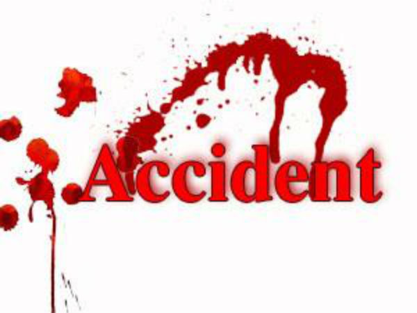 Accident Jeep Overturns Dharampur Valsad