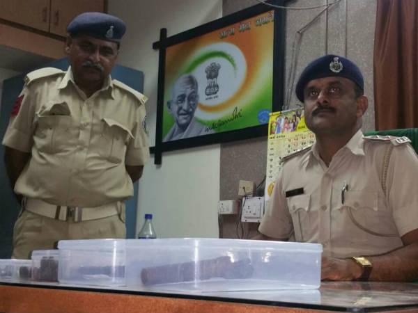 Unclaimed Weapons Found In Rajkot Before Modi S Gujarat Visit