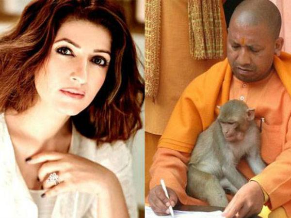 Yogi Adityanath Should Do Gas Releasing Asana Says Twinkle Khanna