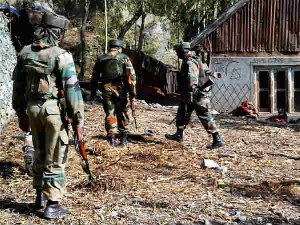 Terrorist Killed Kupwara Jammu Kashmir Encounter