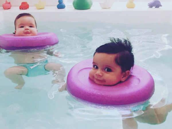 Viral Photos The Cutest Baby Spa Australia