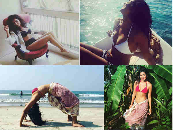 Actress Pallavi Sharda S Hot Holiday Pictures