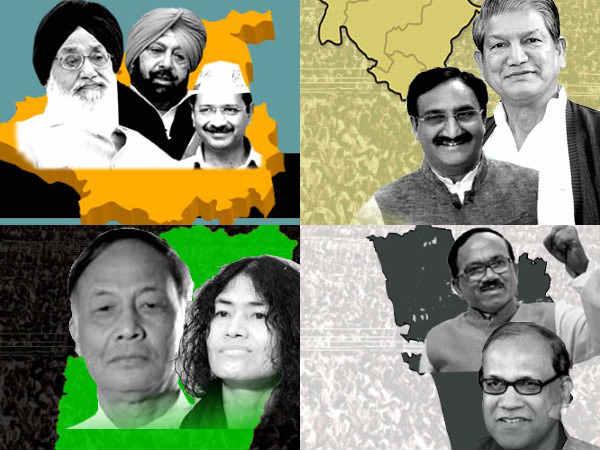 Punjab Manipur Goa Uk Assembly Election Result