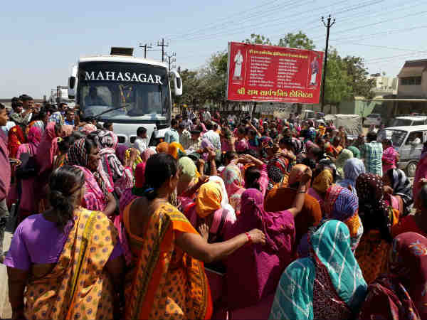 Anganwadi Worker Protest Gujarat
