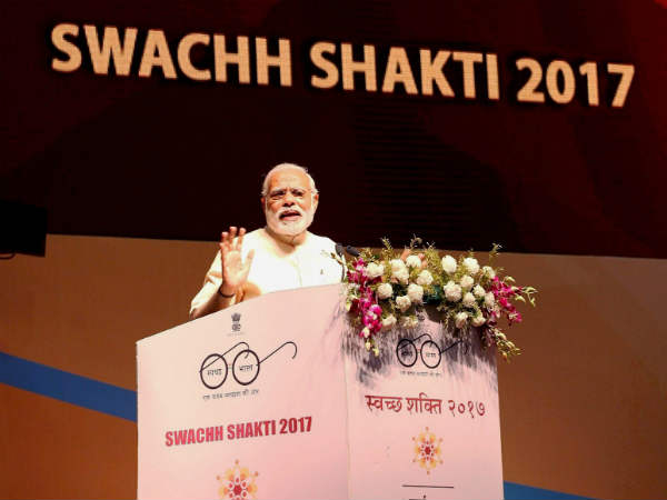 Narendra Modi Address National Convention 6000 Women Sarpanch